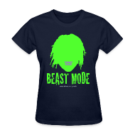 Women's T-Shirts ~ Women's T-Shirt ~ Beast Mode - Marshawn Lynch -