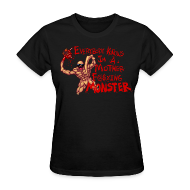 Women's T-Shirts ~ Women's Standard Weight T-Shirt ~ MOTHER F@#$IN F
