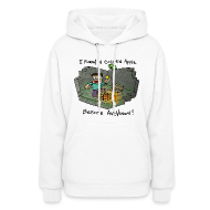 Hoodies ~ Women's Hooded Sweatshirt ~ Women's Hoodie: Steve's Golden Apple