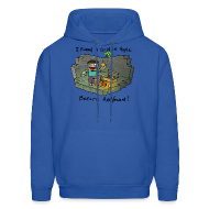 Hoodies ~ Men's Hooded Sweatshirt ~ Men's Hoodie: Steve's Golden Apple