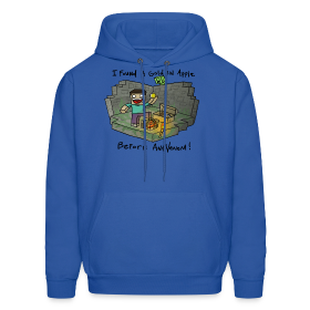 Men's Hoodie: Steve's Golden Apple ~ 185