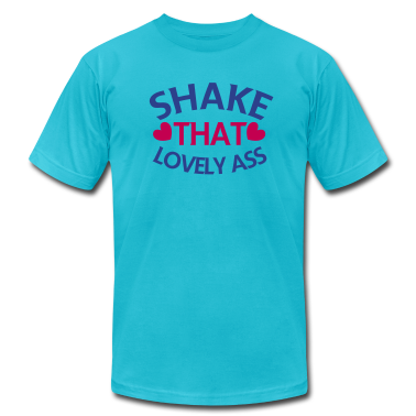 shake that lovely ass! with love hearts T-Shirts