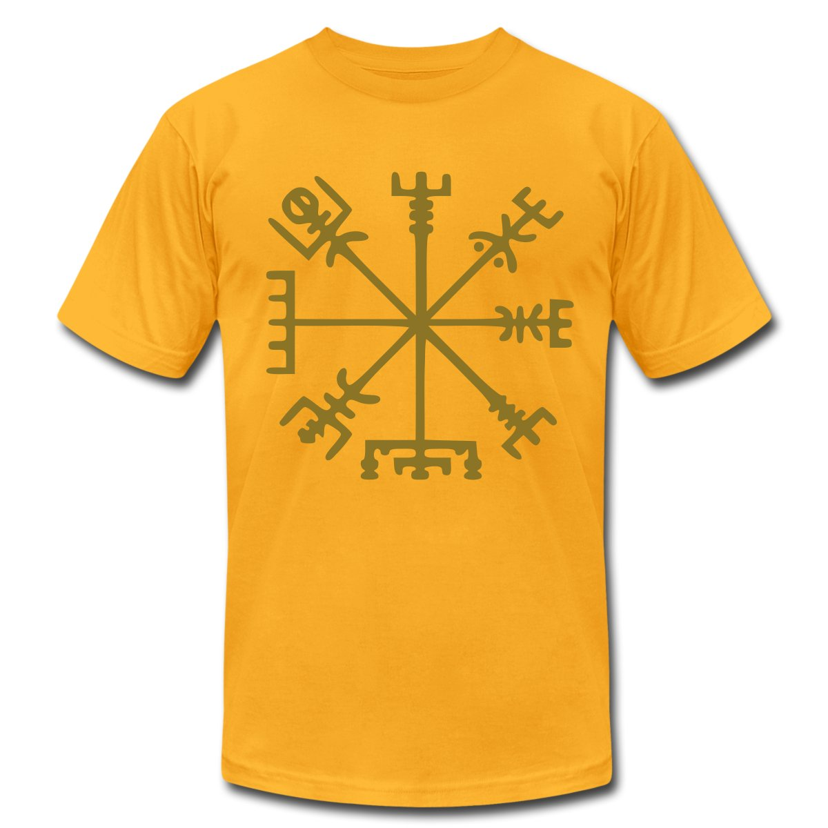 Vegvísir Viking Compass Men's T-Shirt | eBay