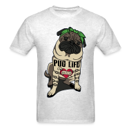 T-Shirts ~ Men's Standard Weight T-Shirt ~ Pug Life
