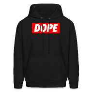Hoodies ~ Men's Hooded Sweatshirt ~ DOPE