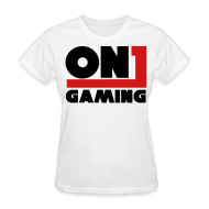 Women's T-Shirts ~ Women's Standard Weight T-Shirt ~ ON1 Gaming Basic T (Female)