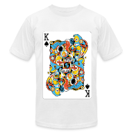 T-Shirts ~ Men's T-Shirt by American Apparel ~ Ace of Spade by sweatyeskimo.co.uk