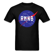 T-Shirts ~ Men's Standard Weight T-Shirt ~ RMNB Space Logo Men's T-Shirt
