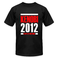 T-Shirts ~ Men's T-Shirt by American Apparel ~ Kenobi 2012 on Black