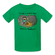 Kids' Shirts ~ Kids' T-Shirt ~ Kid's T-Shirt: Steve's Golden Apple