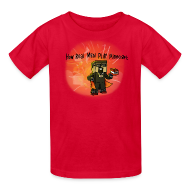 Kids' Shirts ~ Kids' T-Shirt ~ Kid's T-Shirt: How REAL Men Use TNT!