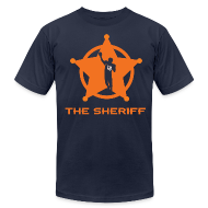 T-Shirts ~ Men's T-Shirt by American Apparel ~ THE SHERIFF