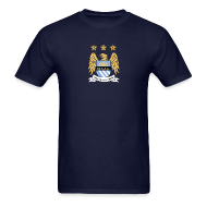 T-Shirts ~ Men's T-Shirt ~ Manchester City Crest