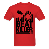 T-Shirts ~ Men's Standard Weight T-Shirt ~ Beat Killer Black Text