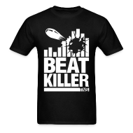 T-Shirts ~ Men's Standard Weight T-Shirt ~ Beat Killer white Text