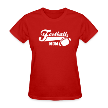 Football MOM UNI T-Shirt WR