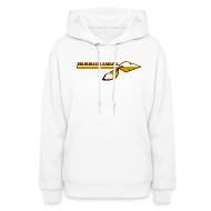 Hoodies ~ Women's Hooded Sweatshirt ~ Women's Burgundy Warpath Hoodie