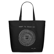 Bags & backpacks ~ Eco-Friendly Cotton Tote ~ What to focus on: HAPPY - tote bag