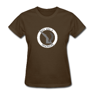 Women's T-Shirts ~ Women's Standard Weight T-Shirt ~ Pterodactyl ~ Eat Like a Dinosaur - dark shirt
