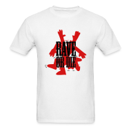 T-Shirts ~ Men's T-Shirt ~ Rave or Die t-shirt featuring a dance man