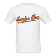 T-Shirts ~ Men's T-Shirt ~ Men's Front/Back: CC/URL (white)
