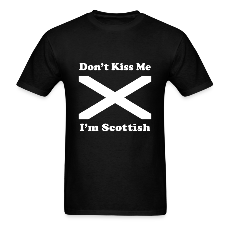 I'm Scottish - Men's White Design - Men's T-Shirt