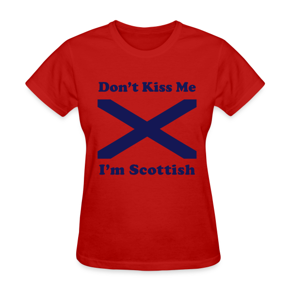 I'm Scottish - Women's Blue Design