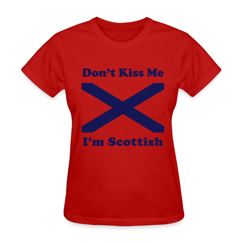 I'm Scottish - Women's Blue Design - Women's T-Shirt