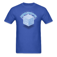 T-Shirts ~ Men's Standard Weight T-Shirt ~ Floating Block of Ice Men's