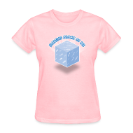 Women's T-Shirts ~ Women's Standard Weight T-Shirt ~ Floating Block of Ice Women's