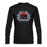 Long Sleeve Shirts ~ Men's Long Sleeve T-Shirt by American Apparel ~ Long Sleeve Tee : FPS Logo Special edition