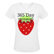 Women's T-Shirts ~ Women's V-Neck T-Shirt ~ Article 9781345