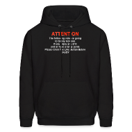 Hoodies ~ Men's Hooded Sweatshirt ~ Article 9794567