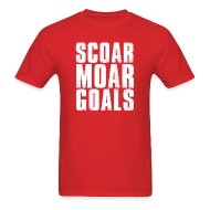 T-Shirts ~ Men's Standard Weight T-Shirt ~ Scoar Moar Goals Men's T-Shirt