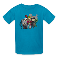 Kids' Shirts ~ Kids' T-Shirt ~ The Cast