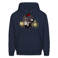 Hoodies ~ Men's Hooded Sweatshirt ~ Attack
