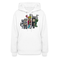 Hoodies ~ Women's Hooded Sweatshirt ~ The Cast
