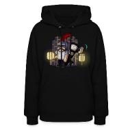 Hoodies ~ Women's Hooded Sweatshirt ~ Attack