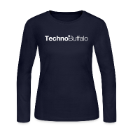 Long Sleeve Shirts ~ Women's Long Sleeve Jersey T-Shirt ~ TechnoBuffalo Long Sleeve Gals