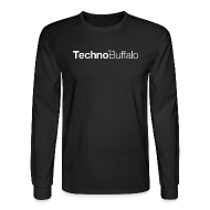 Long Sleeve Shirts ~ Men's Long Sleeve T-Shirt ~ TechnoBuffalo Long Sleeve Guys (Black)