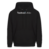 Hoodies ~ Men's Hooded Sweatshirt ~ TechnoBuffalo Hoodie (Black)