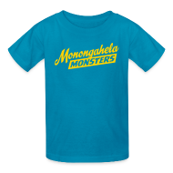 Kids' Shirts ~ Kids' T-Shirt ~ Monongahela Monster's Kid's T-Shirt