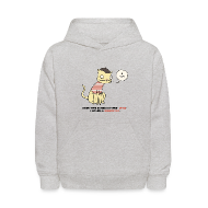 Sweatshirts ~ Kids' Hooded Sweatshirt ~ Article 9865036