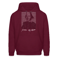 Hoodies ~ Men's Hooded Sweatshirt ~ The Play's the Thing