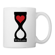 Bottles & Mugs ~ Coffee/Tea Mug ~ Heart WikiLeaks Mug