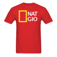 T-Shirts ~ Men's T-Shirt ~ National Giovani - W/Number on back