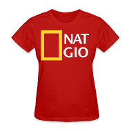 Women's T-Shirts ~ Women's T-Shirt ~ National Giovani - W/Number on back