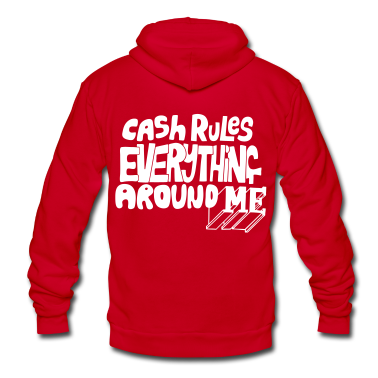 C.R.E.A.M. Cash Rules Everyone Around Me Zip Hoodies/Jackets - stayflyclothing.com