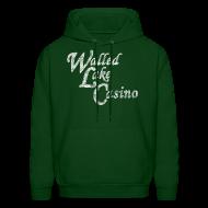 Hoodies ~ Men's Hooded Sweatshirt ~ Old Walled Lake Casino
