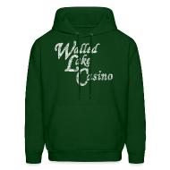Hoodies ~ Men's Hooded Sweatshirt ~ Old Walled Lake Casino